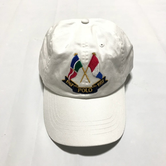 1755cc584 NWT Polo RL Cross Flags Hat Boutique